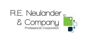 r. e. neulander logo